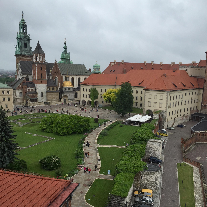 A Visit to Auschwitz - wawel castle