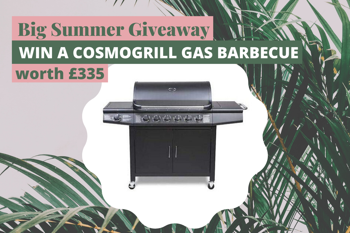 Blogger Big Summer BBQ Giveaway