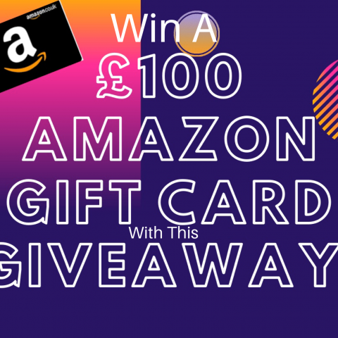 WIN A 100 Pounds Amazon Gift Card In This Giveaway!