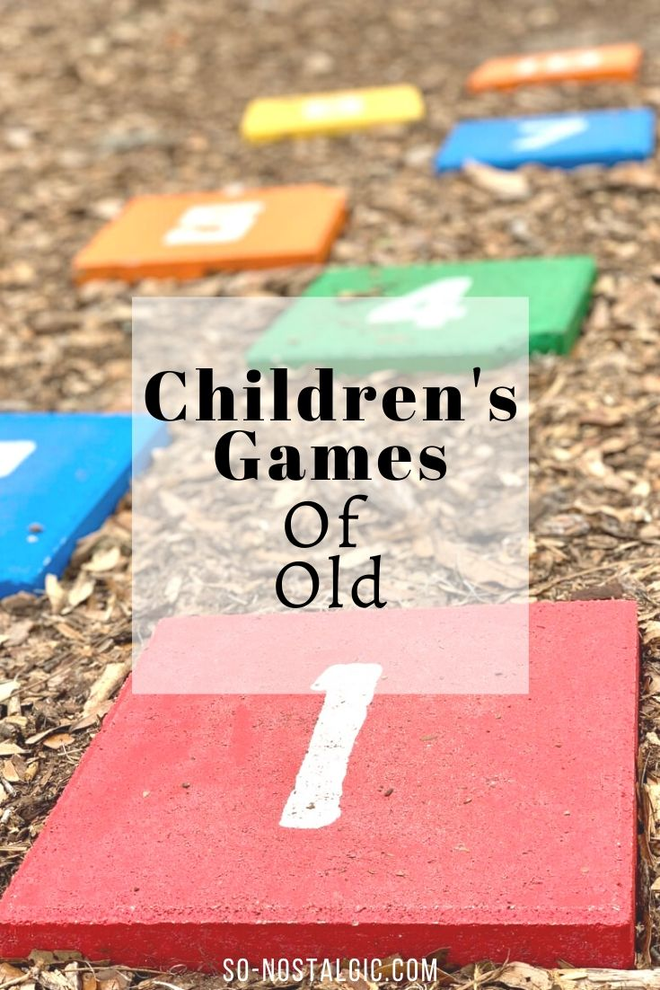 Children's Games of Old