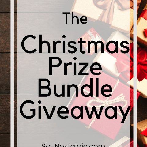 Christmas Prize Bundle Giveaway