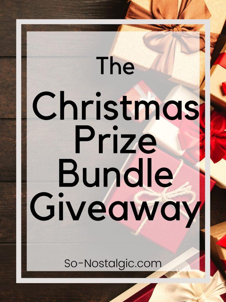 The Christmas Prize Bundle Giveaway