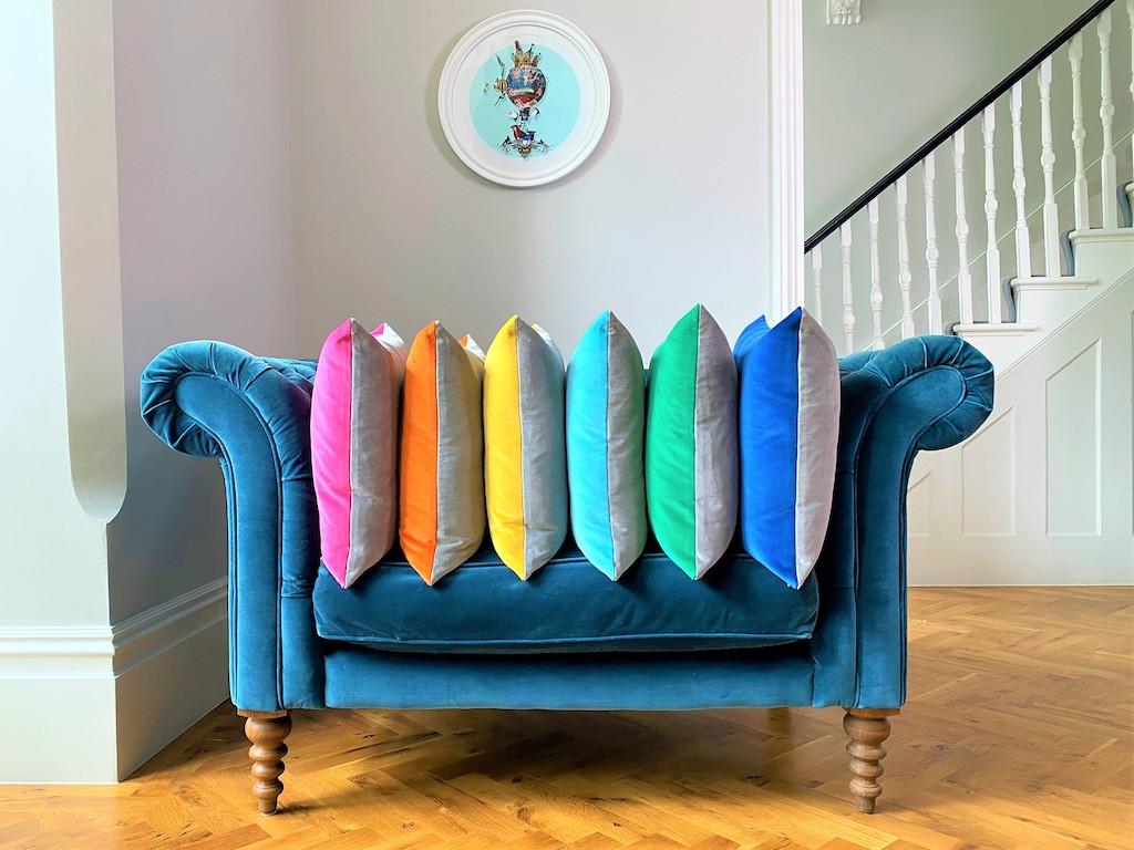 Pic 3 Luxury Velvet Cushion