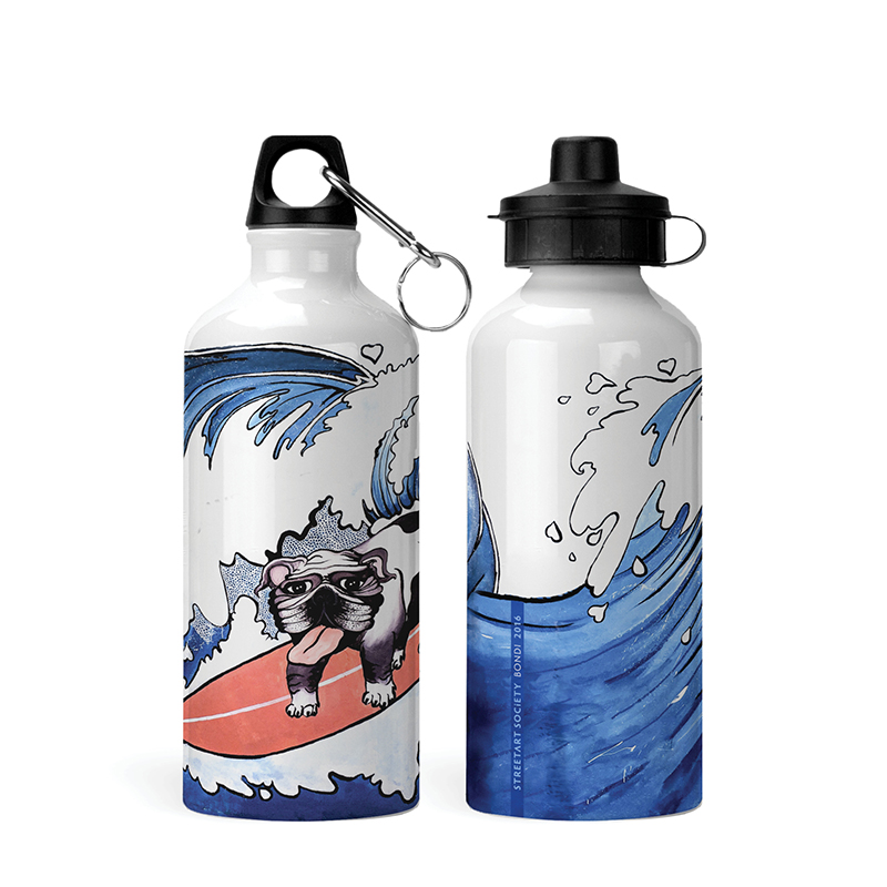 Street art kids bottle